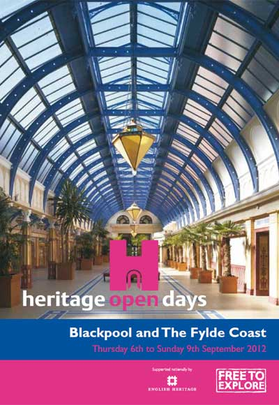 Blackpool and The Fylde Coast Heritage Open Days 2012