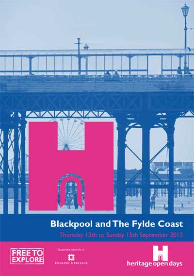 Heritage Open Days 2013 - Blackpool, Fleetwood and Wyre, Lytham St Annes