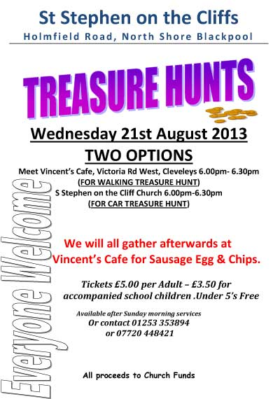 Blackpool Treasure Hunt