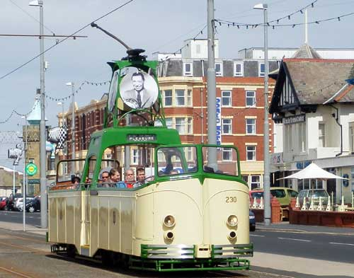 Blackpool Boat Tram May 2013