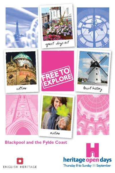 Blackpool, Wyre and Fylde Heritage Open Days Programme link