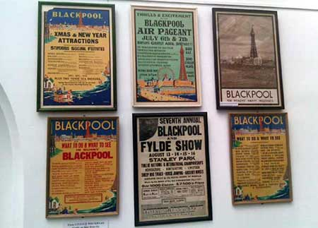 posters put up by Blackpool Civic Trust