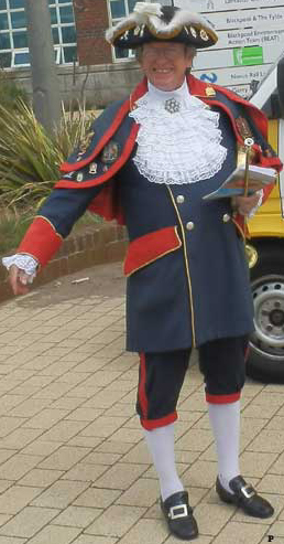 Blackpool Town Crier, Barry McQueen