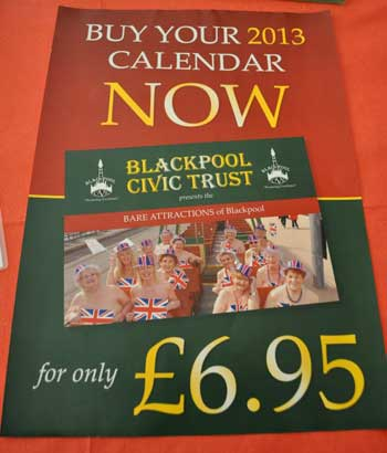 2013 Calendar from Blackpool Civic Trust