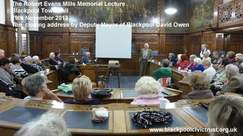 Blackpool Civic Trust meeting November 2013