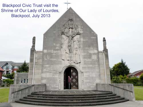 Blackpool Civic Trust visit  The Shrine of Our Lady of Lourdes