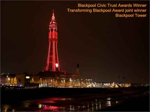 Blackpool Tower and Illuminations