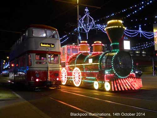 Blackpool Illuminations Tour Tram