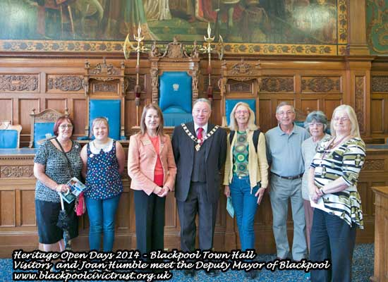 Heritage Open Days Blackpool Town Hall
