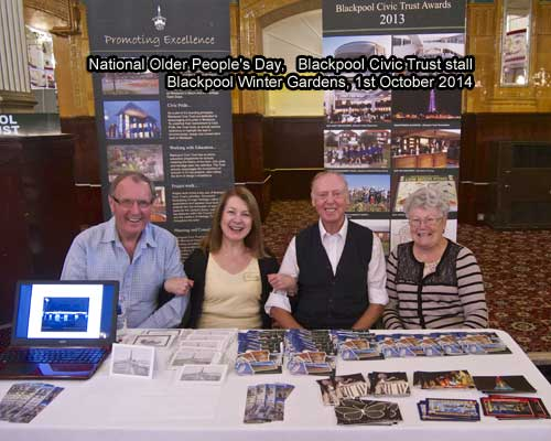 Blackpool Civic Trust at National Older People's Day