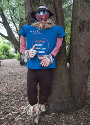 Second Adult Prize: Motor Neurone Disease Assoc.scarecrow, Blackpool