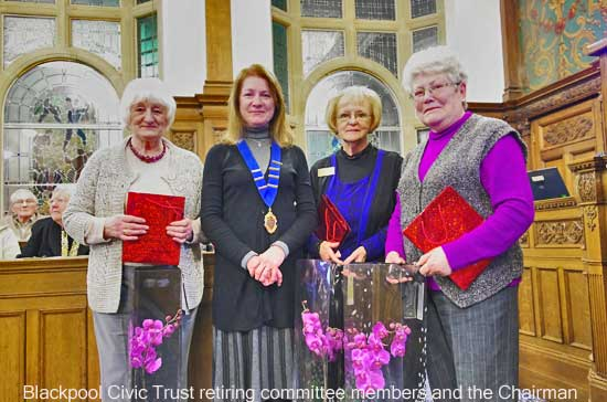 Blackpool Civic Trust: AGM Committe members retiring