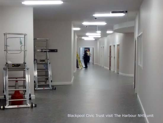 Blackpool Civic Trust visit The Harbour mental health in-patient unit
