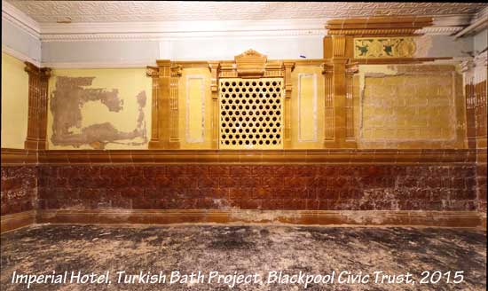 Blackpool Imperial Hotel Turkish Bath restoration