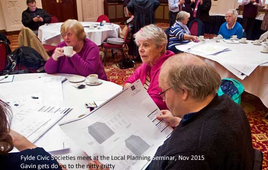 Fylde Civic Societies meet to discuss Planning Regulations at a Planning Seminar 18th November 2015