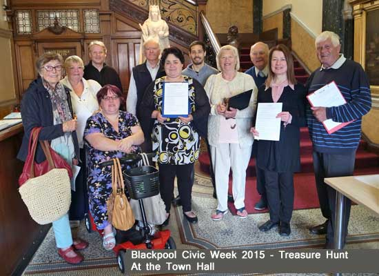 Blackpool Civic Week Treasure Hunt