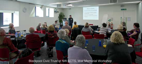NW ACTS War Memorial Workshop