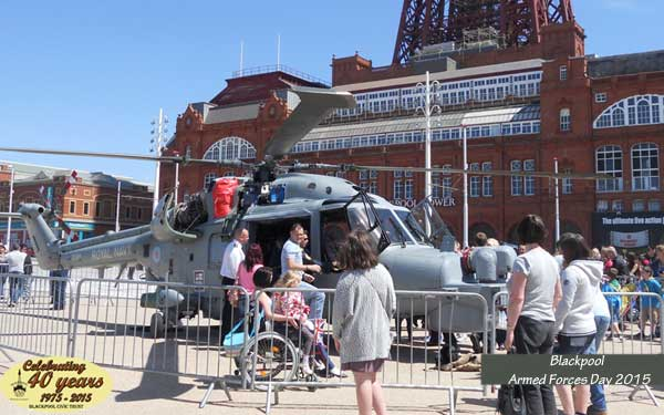 Blackpool Armed Forces Day 2015