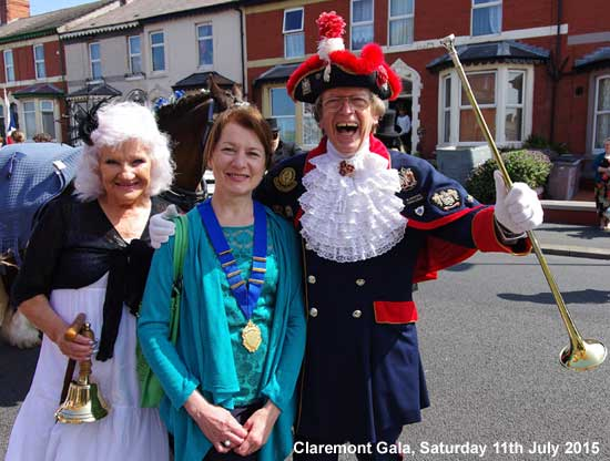 Blackpool Civic Trust at Claremont Gala 2015