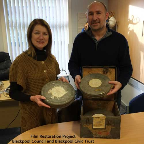 Film Restoration Project, Blackpool Council and Blackpool Civic Trust, November2015