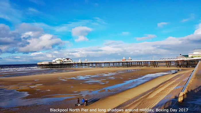 Blackpool North Pier, Boxing Day 2017
