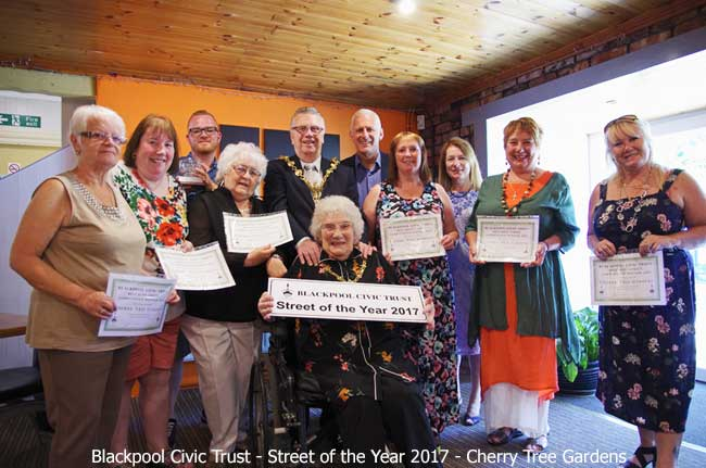 Blackpool Best Street of the Year 2017 - Cherry Tree Gardens