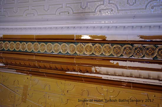 Imperial Hotel Turkish Bath Project - Blackpool Civic Trust - January 2017