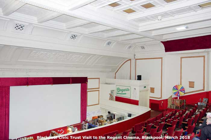 Blackpool Civic Trust at the Regent