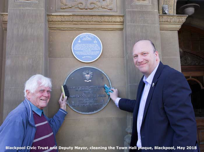 Blackpool Civic Trust at the Town Hall