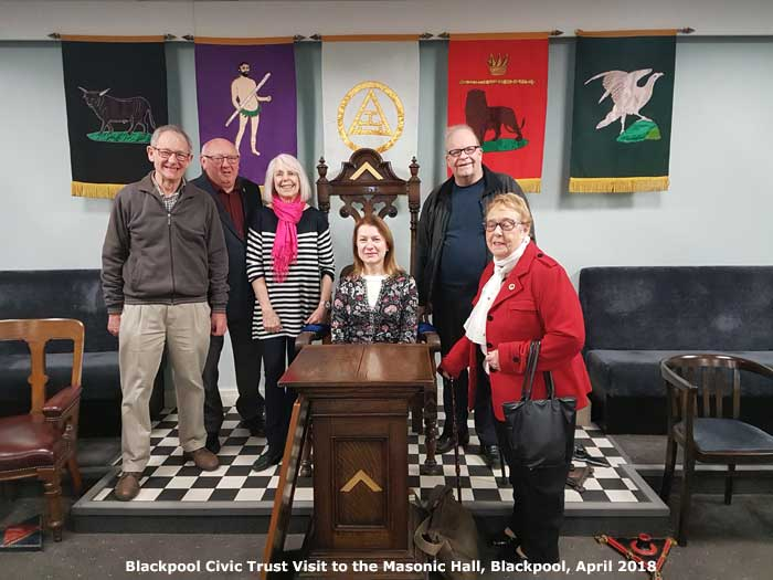 Blackpool Civic Trust at the Masons