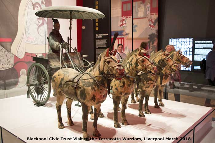 Blackpool Civic Trust at the Terracotta Army Liverpool