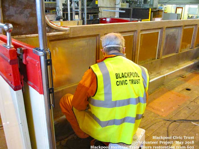 Blackpool Civic Trust Tram Project