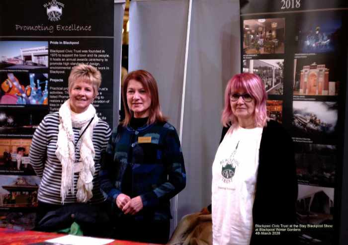 Blackpool Civic Trust at Stay Blackpool Trade Show 4th March 2020