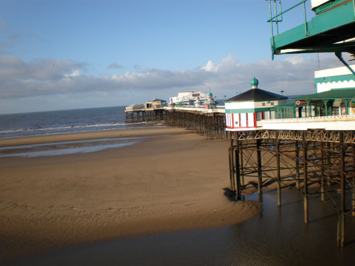 Blackpool's first pier, North Pier.